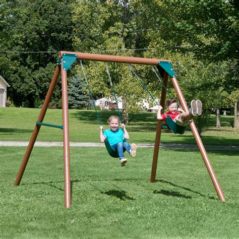 swing sets swing n slide equinox swing set reviews wayfair