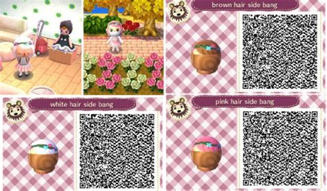 animal crossing new leaf qr codes hair acnl qr hair tumblr