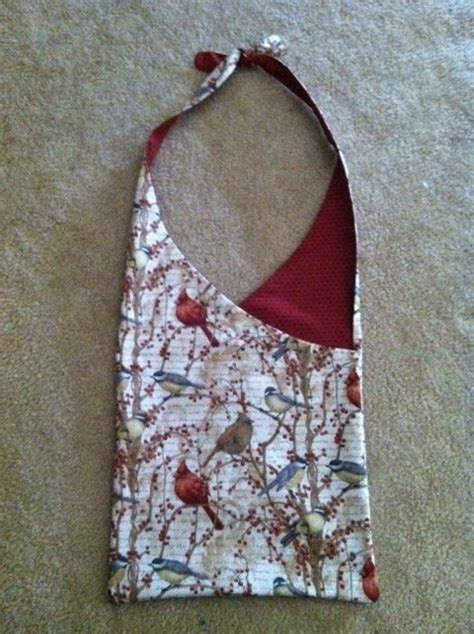 Handmade Handbag Patterns - handmade hobo bag design of bag found from a fabric store