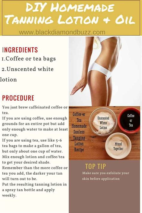 diy tanning lotion tanning lotion