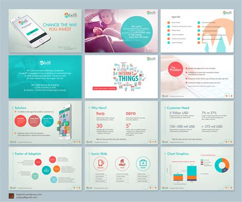 powerpoint for web design upmarket bold investment powerpoint design for a company