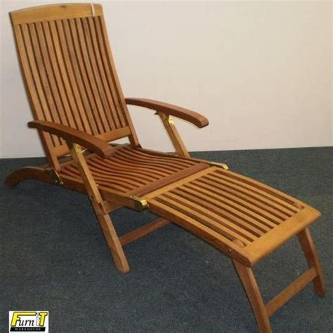 Deck Chair Position by Deck Chair 5 Position Adjustable Balau Hardwood