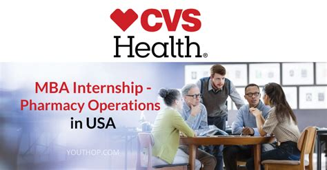 Paid Mba Iternship by Mba Internship At Cvs Health In Usa Youth Opportunities