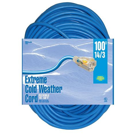 100 ft 14 outdoor extension cord southwire 100 ft 14 3 outdoor extension cord with lighted
