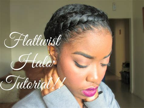 why my twa straight infront natural hair protective styling halo tutorial youtube