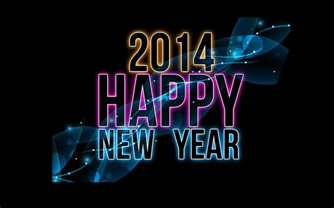 happy new year 2014 background beautiful black wallpapers