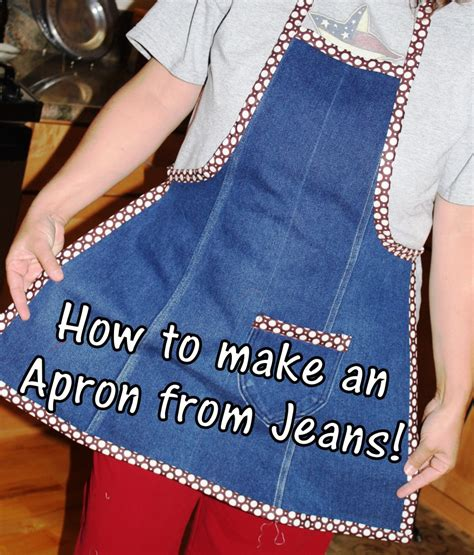 pattern for blue jean apron making an apron tutorial from the leg of an old pair of