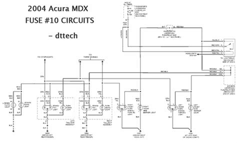 Acura Mdx Brake Light Fuse Keeps Blowing Questions