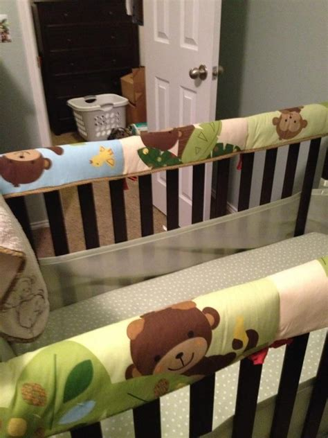 repurpose your crib bumpers i it s not recommended