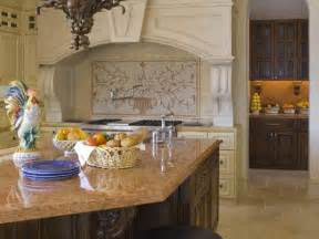Country Kitchen Backsplash Kitchen Remodels Country Tuscan Afreakatheart