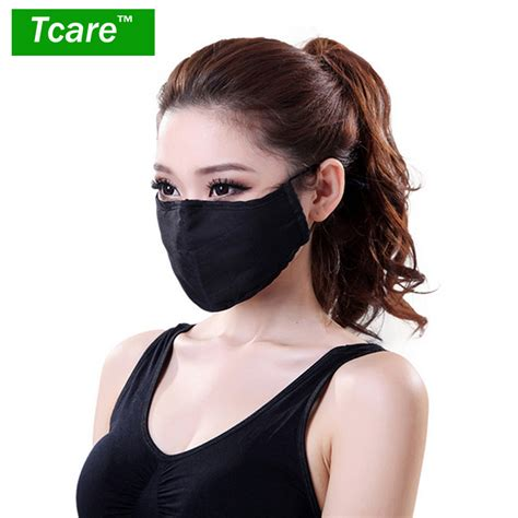 mouth mask cotton pm2 5 black mouth mask anti dust mask activated