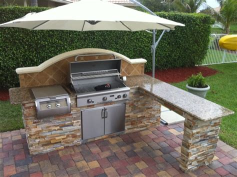 Backsplash Tile Ideas For Small Kitchens by Outdoor Kitchens 171 Lee S Barbeque Grill Center