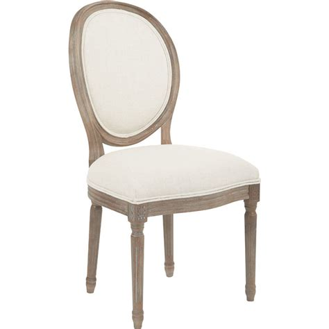 oval back chair beige office products ave six lillian oval dining back