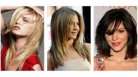 haarstijlen vrouwen kapsels halflang haar vrouwen