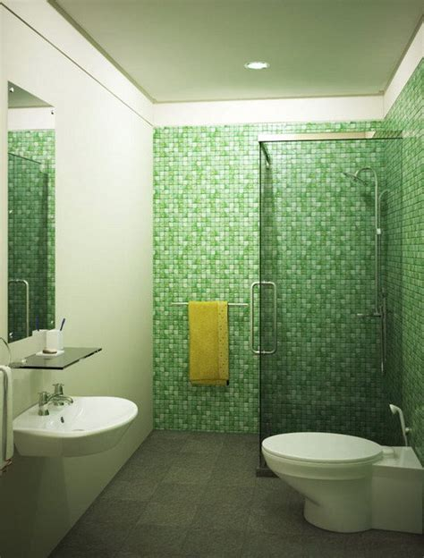 simple bathroom tile design ideas id 233 es salle de bain en vert 25 designs d inspiration nature