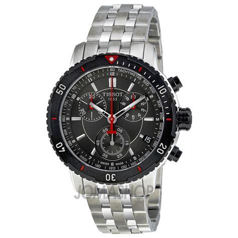 Tissot Prs200 tissot t sport prs200 chronograph black textured