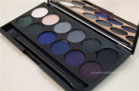 light blue eyeshadow palette black makeup palette mugeek vidalondon