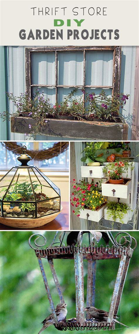 diy thrift store projects thrift store diy garden projects the garden glove