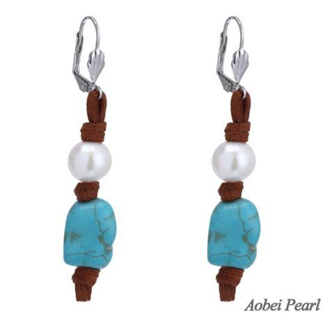 Velvet Pearl Earring aobei pearl korean velvet turquoise freshwater pearl