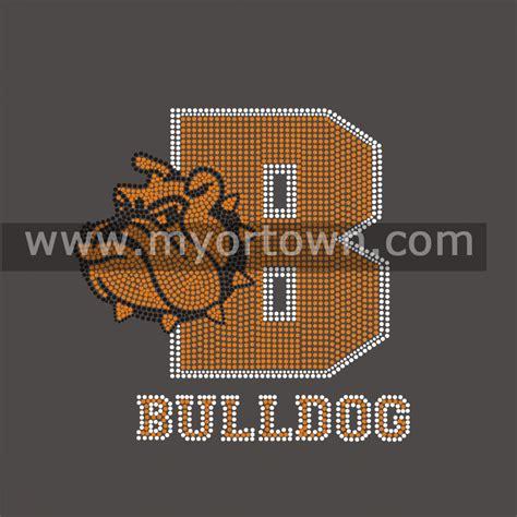 design t shirt transfers bulldog custom rhinestud transfer design for t shirts