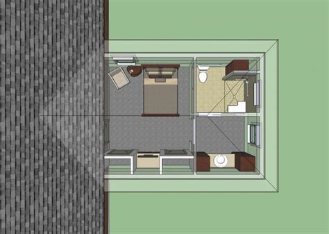 653681 wheelchair accessible mother in law bedroom