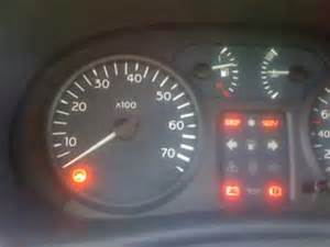 Renault Laguna Warning Lights Explained Clio Fail