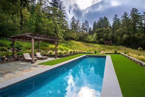 lap pool in small backyard google search screened hot in ground lap pool endurapool in ground pools lap pool
