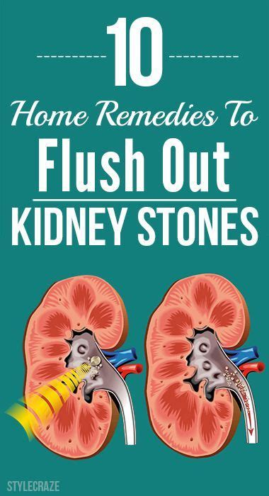 Home Remedy To Detox Kidney by 25 Best Ideas About Kidney Stones On Kidney