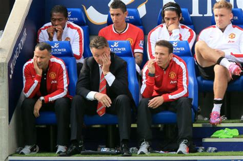 man utd bench 20969779 187 who ate all the pies