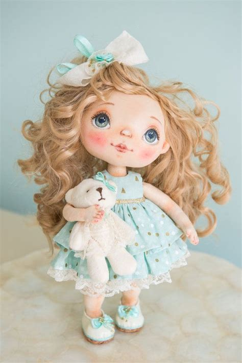 Handmade Cloth Dolls For Sale - best 20 vintage curly hair ideas on curly