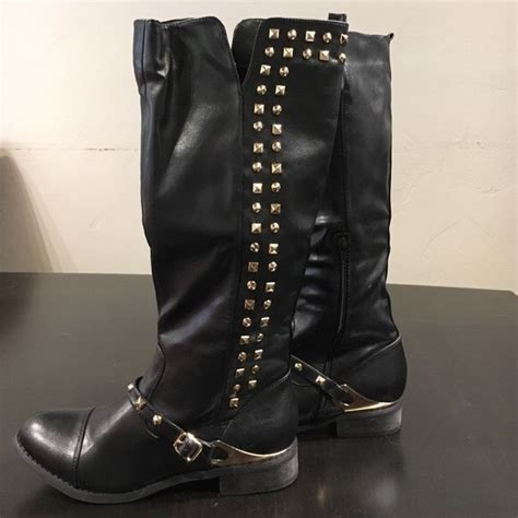 93 cleopatra shoes bogo black boots with