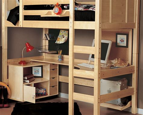 bunk bed with desk cheap bedroom kids loft beds simple cheap and space sav