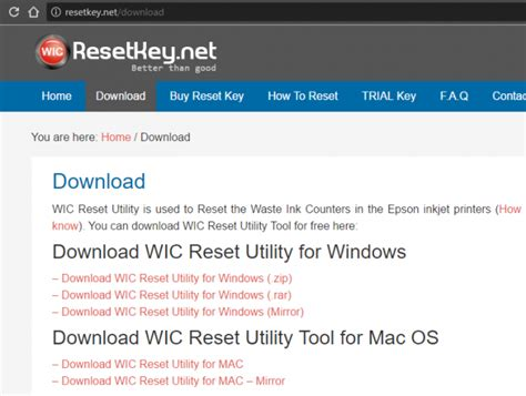 Wic Reset Utility For Epson L110 Free Download | wic reset key blog get free wic reset key and reset