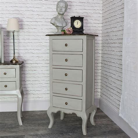 Tallboy Chest Of Drawers Uk by Vintage Grey Tallboy Chest Of Drawers Leadbury