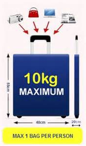 ryanair luggage and checked baggage allowance