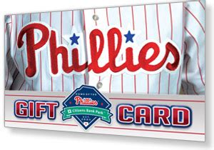 Mlb Gift Card - gift cards philadelphia phillies