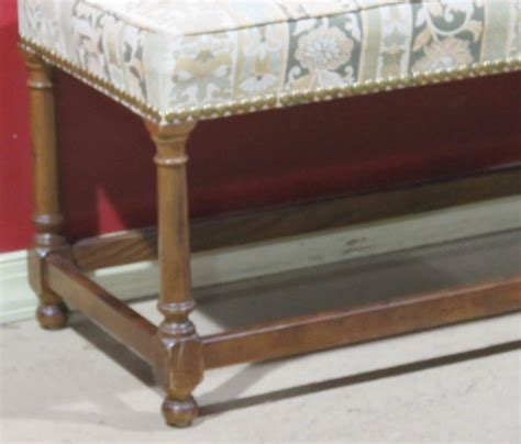henredon bench henredon heritage upholstered bench for sale at 1stdibs