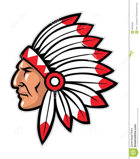 indian clipart indian chief clipart