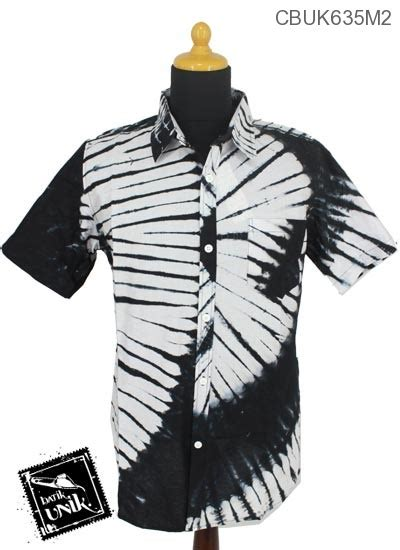 Set Kemeja 86 Warna Hitam baju batik kemeja motif jumputan hitam putih kemeja lengan pendek murah batikunik