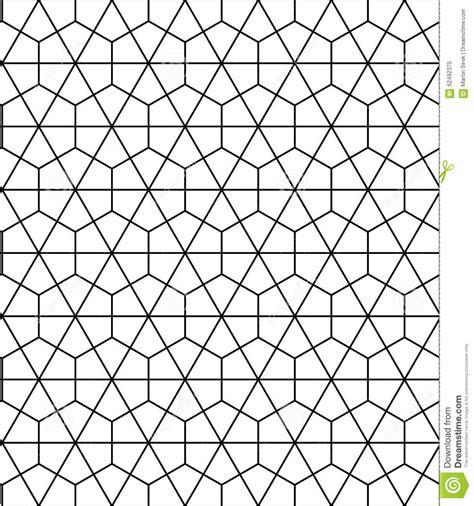 pattern geometric hexagon vector modern seamless sacred geometry pattern hexagon