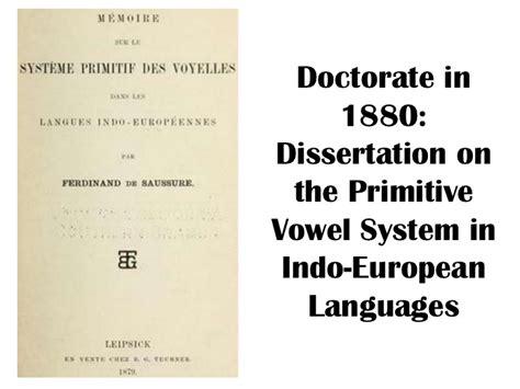 linguistics thesis dissertation linguistics