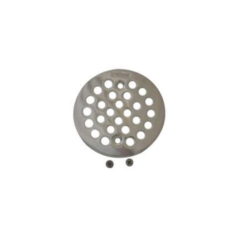 moen 4 1 4 in brass tub shower drain cover 101664nl the
