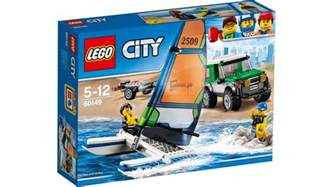 Lego Sets 60149 4x4 With Catamaran Lego 174 City Products And Sets