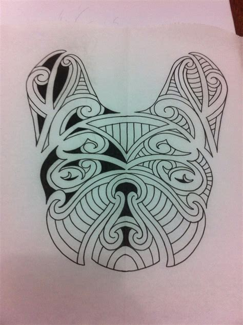 tribal bulldog tattoo 7 best maori tattoos images on maori tattoos