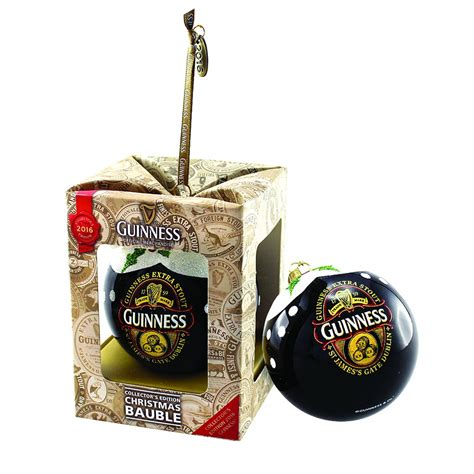 guinness 2016 collectors christmas bauble