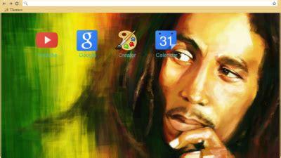 theme google chrome bob marley reggae chrome themes themebeta