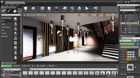 home design visualization software unreal engine architectural visualization