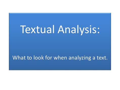 how to write a textual analysis paper textual analysis essay exle newhairstylesformen2014