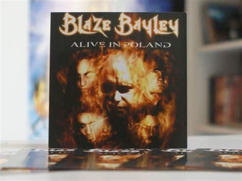 133334 blaze bayley alive in blaze bayley alive in poland promo stickers iron