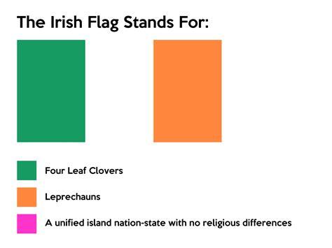 ireland colors ireland flag meaning of ireland flag flag images